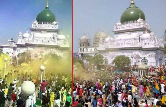 अयोध्या और राम जन्मभूमि के पास ही है ये दरगाह, हिंदू-मुस्लिम साथ उड़ाते हैं यहां गुलाल!