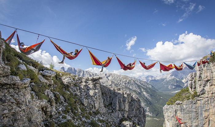 Hammock Rainbow Monte Piana