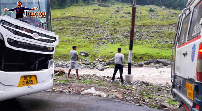अमरनाथ यात्रा 2018: पेशाब करने वाले लोगों की तस्वीर की सच्चाई क्या है?