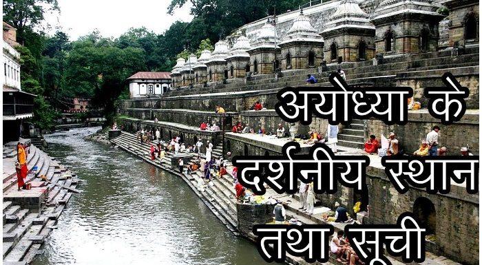 श्रीराम जन्मभूमि के अलावा ये हैं अयोध्या के Best Tourist Spots