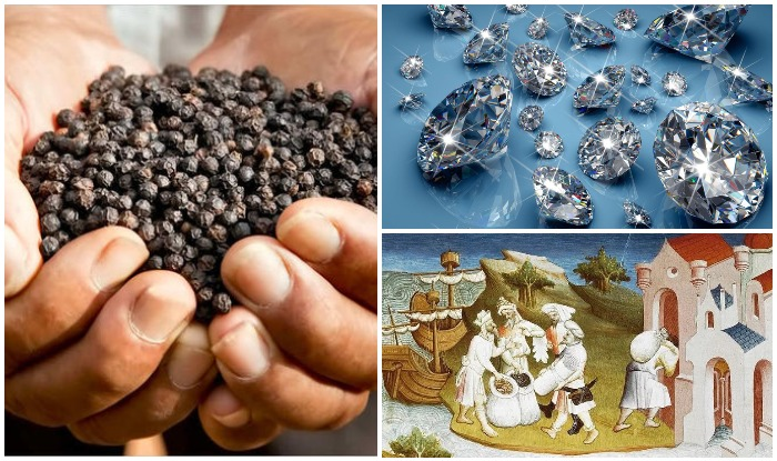 History of Black Pepper, India Trade Route