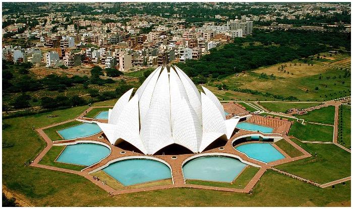 Lotus Temple Delhi bahai Mandir