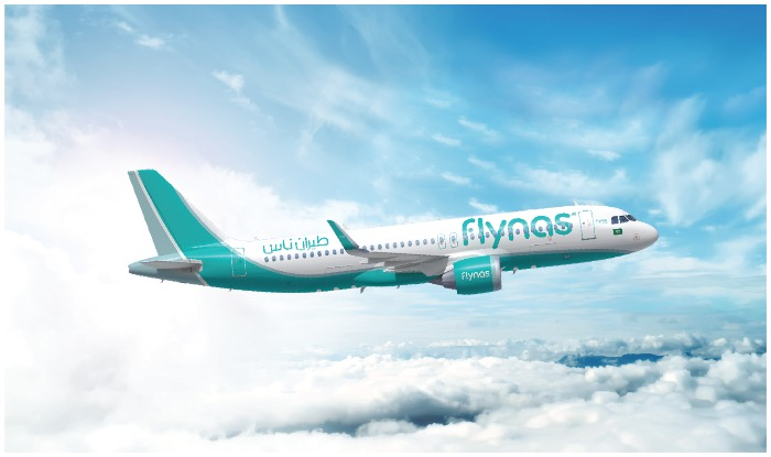 "Saudi airline's national airline and Middle East's low budget airline, ""flynas"", has announced a direct airline service between Saudi Arabia's"