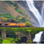 Dudhsagar Falls, Mollem National Park, Spice Plantation, Dudhsagar Fall, दूधसागर रेलवे स्टेशन, dudhsagar information in hindi, Travel Places in Goa