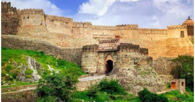 Kumbhalgarh fort is the second largest wall in the world after China wall