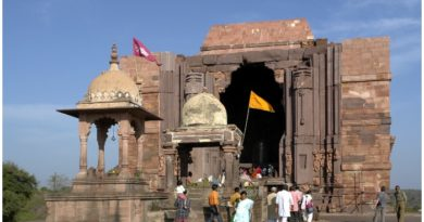 why is Bhojeshwar temple still incomplete?