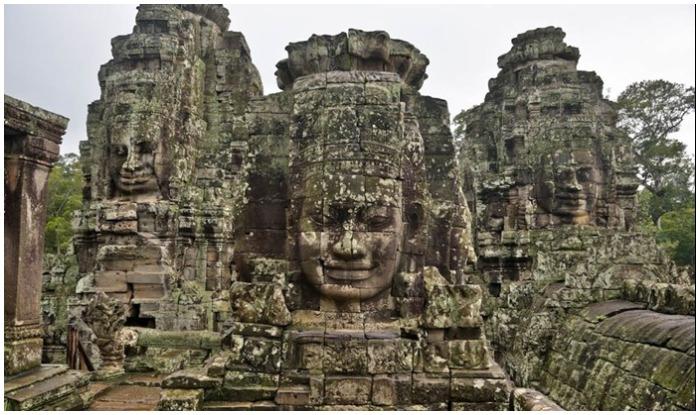 angkor wat temple in Cambodia