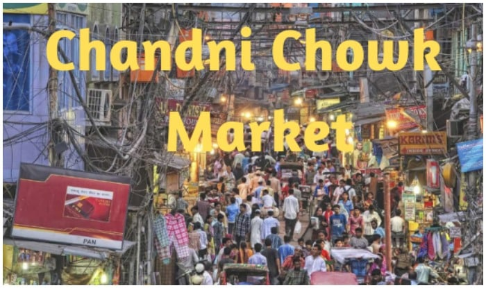market in Chandni Chowk, there are details from Khari Baoli to Daribe