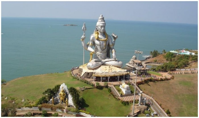 Second tallest statue of Lord Shiva in Murudeshwar temple in the world