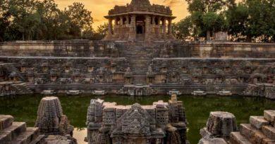 Modhera Soory Temple PM narendra modi shares beautiful video of conic sun temple in modhera
