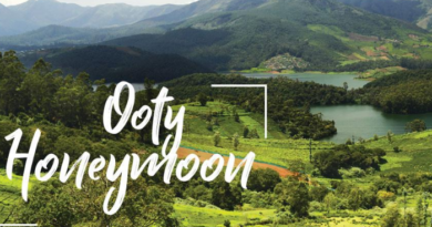 Ooty Honeymoon Tours - Best Place to visit During Honeymoon