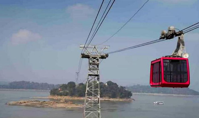 Guwahati gets Country's longest River Ropeway