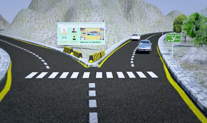 all weather road would become life line once completes in near future in uttarakhand