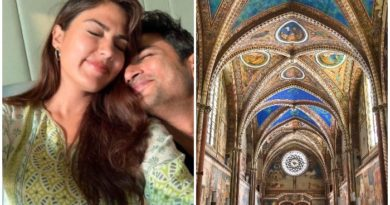 Sushant and Rhea Chakraborty Europe Tour - What is Gothic Architecture?