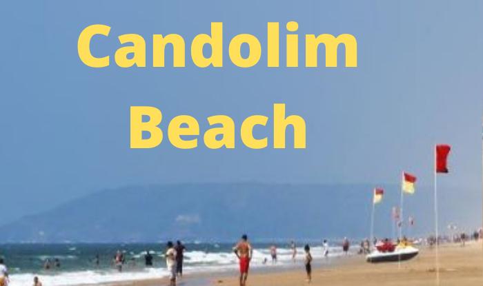 Candolim Beach is a popular tourist spot for honeymoon