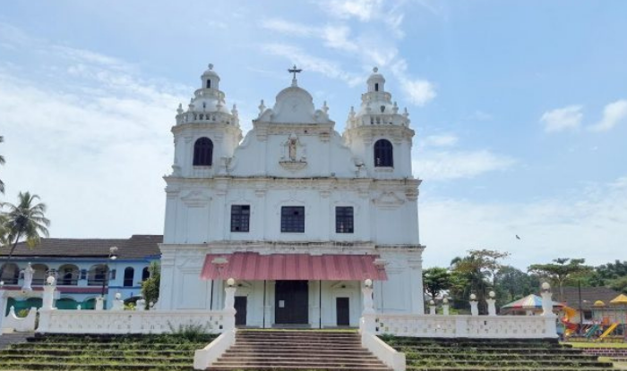 St. Alex Church One of the beautiful and ancient churches of Goa