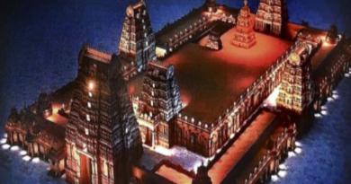 India's grandest Yadadri temple ready