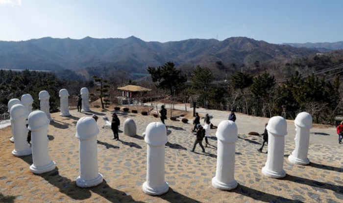 know about south korea penis park or haesindang park