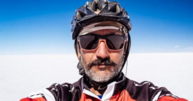 kamran on bike a person traveling 50 thousand kilometers by bicycle?