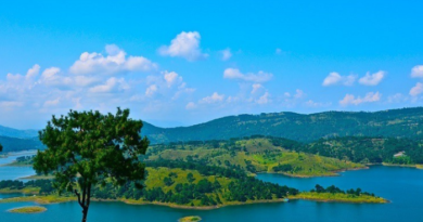 Shillong Tours - Here is Manmade Umiam Lake, definitely included in travel itinerary