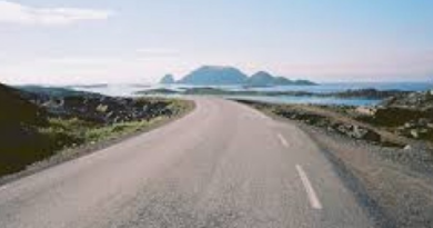 Last Road: Here is the last road of the world, before it becomes the end of the world
