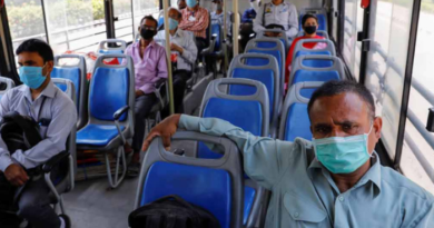 Mask during travel: It is necessary to wear a mask to travel in the bus