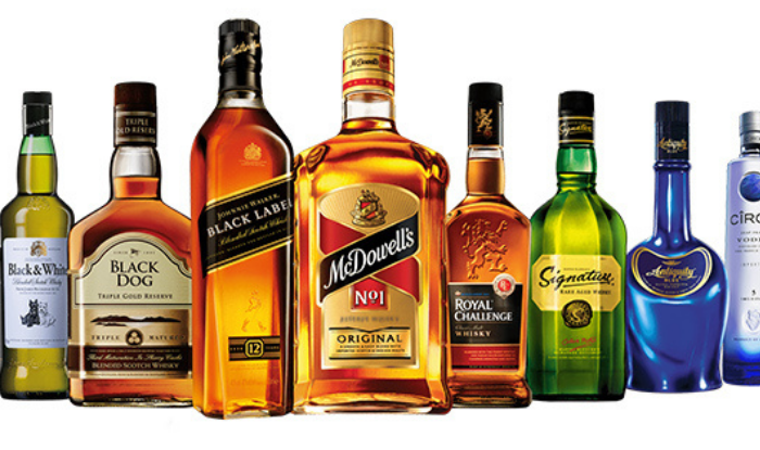 Alcohol What's the difference between Beer, Wine Champagne Brandy Whiskey, Scotch, Vodka Feni and Tequila