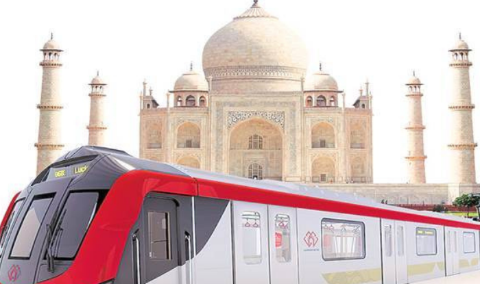 Agra Metro Project : agra city tourism industry of agra welcomed the agra metro project