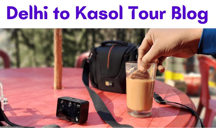 Delhi to Kasaul Road Trip - ये तस्वीर खीरगंगा के रास्ते की है