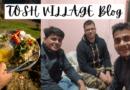 Tosh Village Tour Blog - रात 8 बजे से कुछ ज्यादा का वक्त था. हम तोष गांव के मुहाने पर खड़े थे. टैक्सी वाले को भाड़ा भी दे चुके थे.