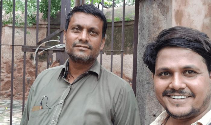 Bhuli Bhatiyari Ka Mahal पर मैं और गार्ड नवाबुद्दीन जी