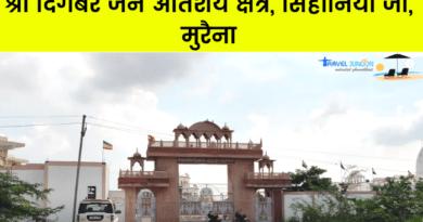 ककनमठ मंदिर के दर्शन के बाद, मैं श्री दिगंबर जैन अतिशय क्षेत्र सिहोनिया ( Shri Digambar Jain Atishaya Kshetra Sihoniya ) की ओर बढ़ा...
